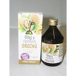 100% Olej z vlašských orechov 100ml