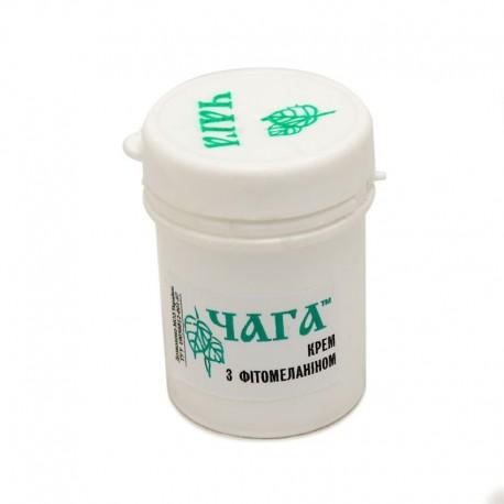 Čaga krém s fytomelaninem (základní) 45 ml