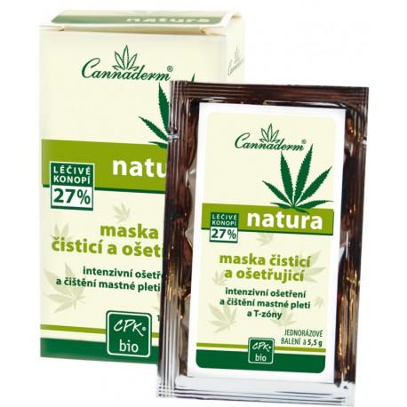 NATURA - čisticí a ošetřující maska 10x5,5g - K0411 - Ca