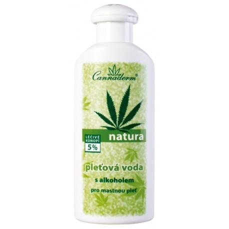 NATURA - pleťová voda s alkoholem na MASTNOU pleť 200 ml - K0275 - Ca