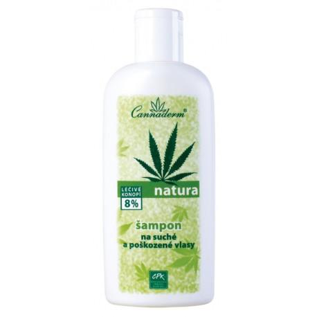NATURA - šampon pro SUCHÉ a poškozené vlasy 200 ml - K0107 - Ca