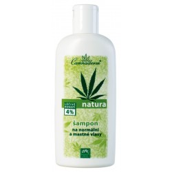 NATURA - šampon pro normální a MASTNÉ vlasy 200 ml - K0305 - Ca