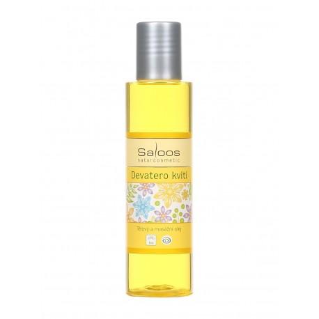 Telový a masážny olej Deväť kvetov 125 ml 67790125 - HM