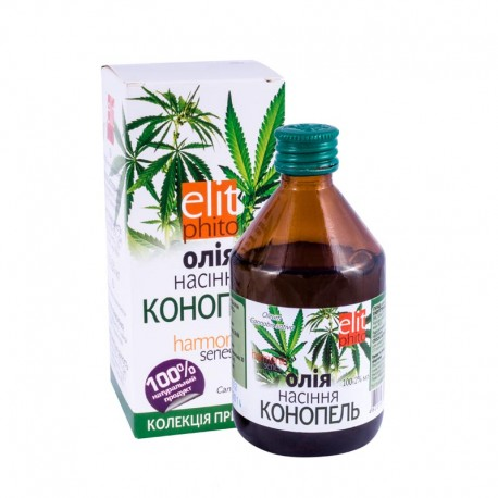 BIO Konopný olej za studena lisovaný 100 ml O116 - TML