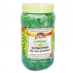 Cannabis konopná sůl do koupele 1200 ml - 56064 - Vi