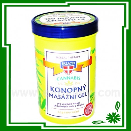 Cannabis konopný masážní gel 380 ml - 56040 - Vi