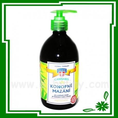 Cannabis konopné mazání regenerační 500 ml - 56569 - Vi