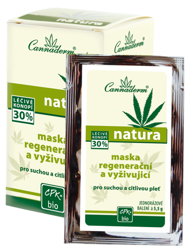 NATURA - regenerační a vyživující maska 10x5,5g - K0398 - Ca