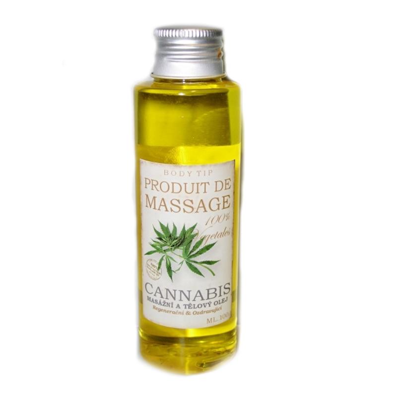 Cannabis masážní a tělový olej 100ml 54732 - Vi